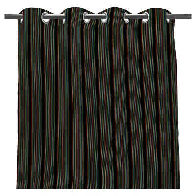 "Jordan 50"" x 96"" Outdoor Curtain Panel - Rainbow"