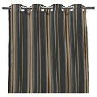 "Jordan 50"" x 84"" Outdoor Curtain Panel - Charcoal Heather"