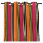 """Jordan 50"""" x 84"""" Outdoor Curtain Panel - Rainbow"""