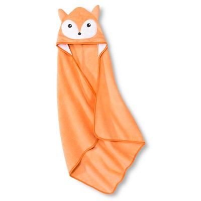 Baby Hooded Bath Towel - Orange OSFM- Circo™