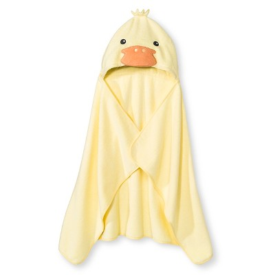 Newborn Bath Towel - Yellow Circo™