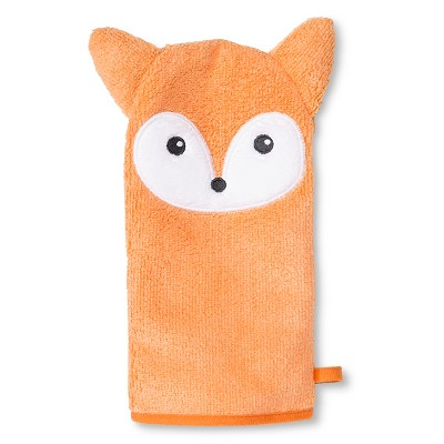 Newborn Fox Wash Mitt - Orange Circo™