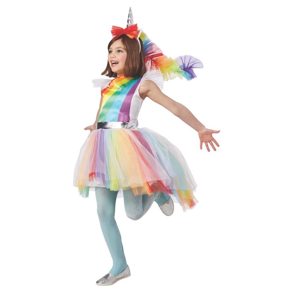2109fcac5bb1 UPC 492401110486 - Girls  Rainbow Unicorn Costume S