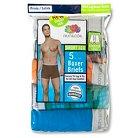 Fruit of the Loom® - Men's 5 pk Short Leg Boxer Briefs Stripe Multi-Colored L