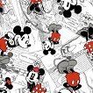 Disney Comic Strip Character Fabric