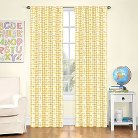 Eclipse My Scene Zane Houndstooth Blackout Curtain Panel