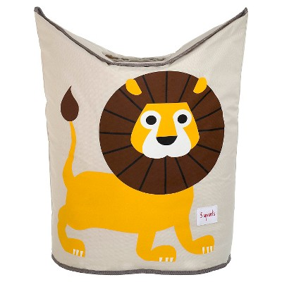 3 Sprouts Canvas Storage Hamper - Lion