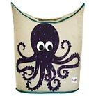 3 Sprouts Canvas Storage Hamper - Octopus