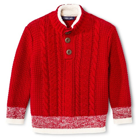 Boys Red Sweater 64
