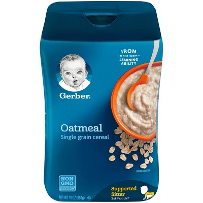 Gerber Cereal Oatmeal - 16oz (3 Pack)