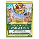 Earth's Best Organic Whole Grain Oatmeal Cereal - 8oz (3 Pack)