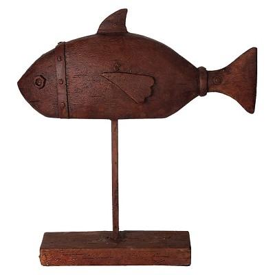 Decorative Accent Piece Figurine - Brown