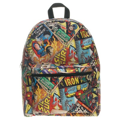Marvel Comic Cover Backpack