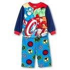 Toddler Boys' Avengers Two Piece Pajama Set - Blue- Avengers