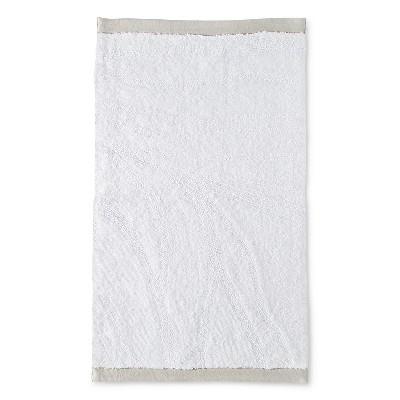Textured Bath Rug White - Nate Berkus™