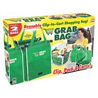 As Seen On TV Grab Bag Reusable Shopping Bags