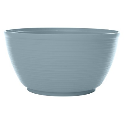 "Bloem 15"" Dura Cotta Planter Bowl - Meltwater Blue"
