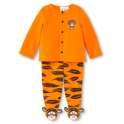 Tigger Newborn Boys' Top and Bottom Set - Pumpkin 0-3 M