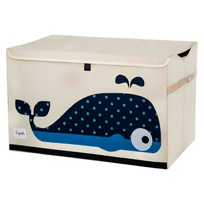 3 Sprouts Collapsible Storage Toy Chest - Whale