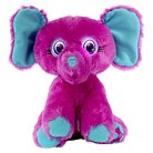 Bright Eyes Pets™ Elephant �Tiny� – Purple