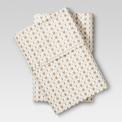Performance Pillowcase Neutral Arrow (King) - Threshold™