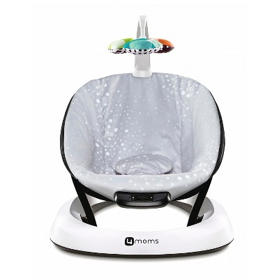 4moms bounceRoo Plush Infant Seat - Silver