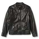 Urban Republic Boy's Faux Leather Jacket Black
