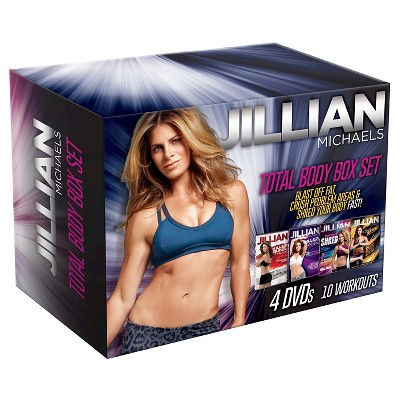 Jillian Michaels 4 pack Dvd