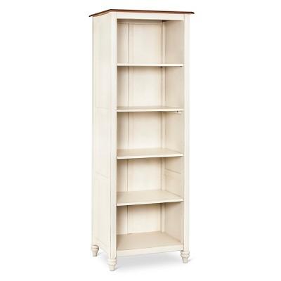 Mulberry 5 Shelf Bookcase Off White
