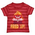 Disney® Pixar Inside Out Toddler Boys' Fired Up Tee - Red