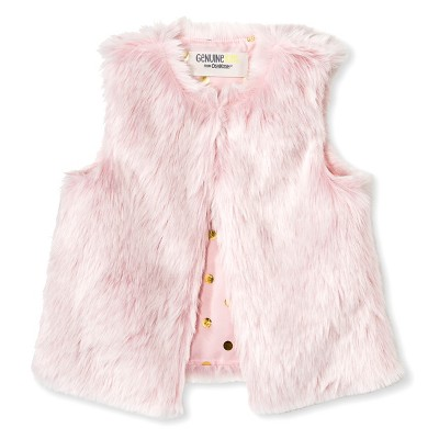 Female Fashion Vests Genuine Kids 12-18 M Just Blush