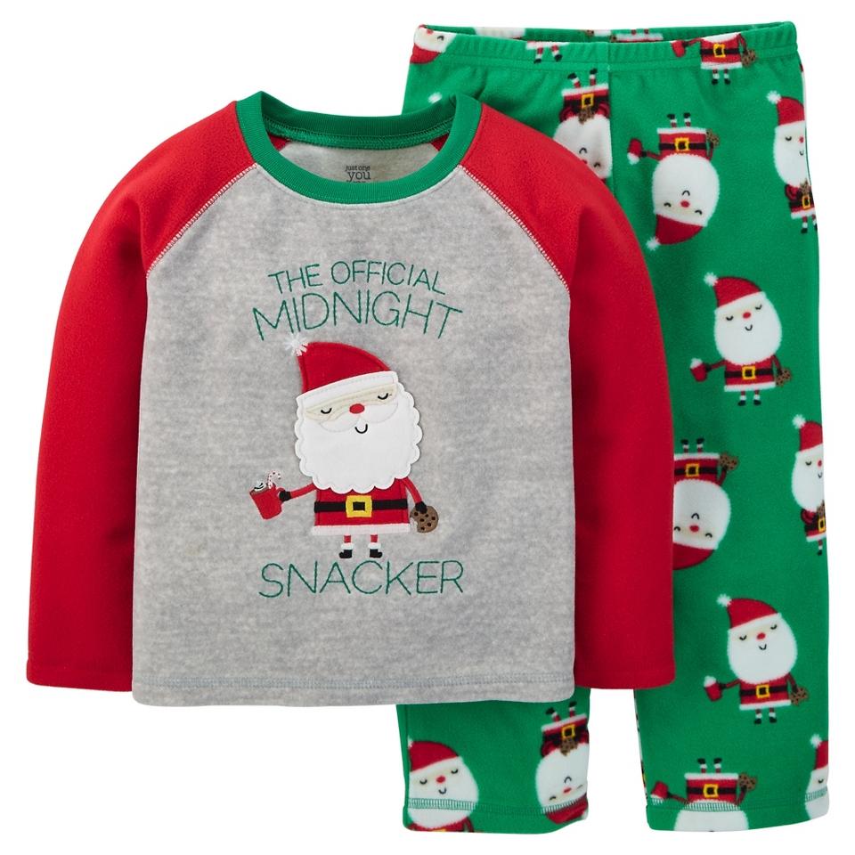 e648c95e3f85 Just One You™ Made by Carters® Fleece Pajama Set Santa on PopScreen