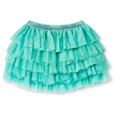 Toddler Girls' Tutu Skirt - Green 18 M