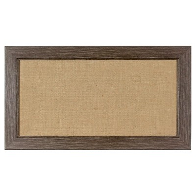 "Framed Dry Erase Board 27""x15"""