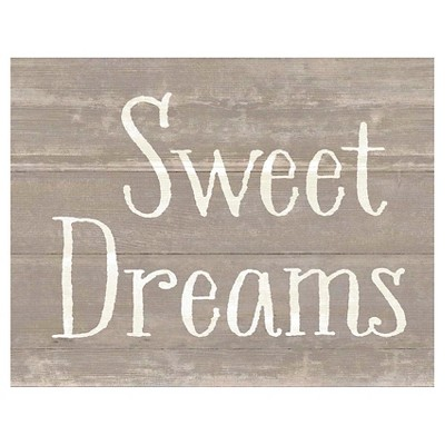 Sweet Dreams Decorative Wall Panel