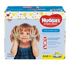 HUGGIES® Simply Clean® Fresh Baby Wipes, Soft Pack - 648 Count