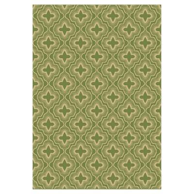 Balta Wright 8' x 10' Outdoor Patio Rug - Green
