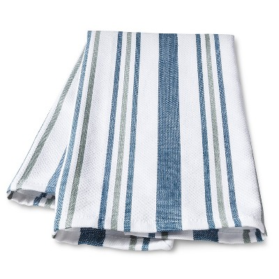 Threshold™™ Blue Basket Weave Kitchen Towel