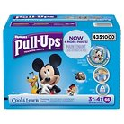 Huggies Pull-ups Boys Cool & Learn Training Pants Super Pack (Select Size)