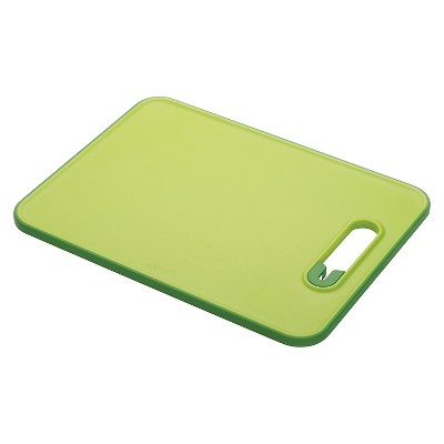 Joseph Joseph® Slice & Sharpen™ Chopping Board with Integrated Knife Sharpener - Green (Small)