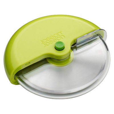 Joseph Joseph® Scoot™ Pizza Wheel with Integrated Blade Guard - Green