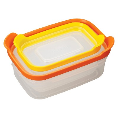 Joseph Joseph® Nest™ Storage Compact Food Storage Containers Set of 2 - Multicolored