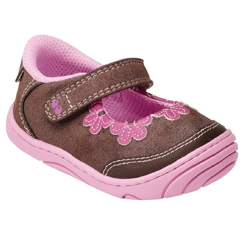 Infant Brown Mary Jane Shoes