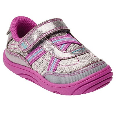 Infant Girl's Surprize by Stride Rite Aida Sneakers - Grey/Purple 2