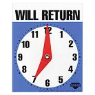 COSCO Will Return Later Sign - 5 x 6 - Blue