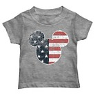 Disney® Mickey Mouse Toddler Boys' Americana Tee - Heather