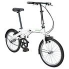 Durban One 1 Speed Folding Bike - White