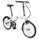 Durban One 1 Speed Folding Bike - White