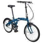 Durban One 1 Speed Folding Bike - Blue