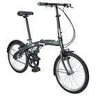 Durban One 1 Speed Folding Bike - Grey
